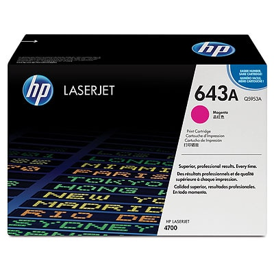 HP Color LaserJet Q5953A Magenta Toner Cartridge