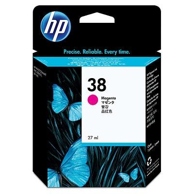 HP 38 Magenta Pigment Original Ink Cartridge C9416A