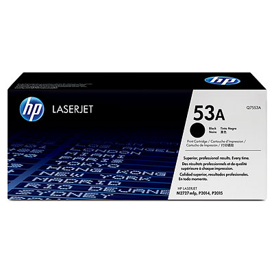 HP LaserJet 53A Black Toner Cartridge