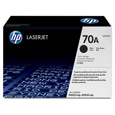 HP LaserJet 70A Black Toner Cartridge