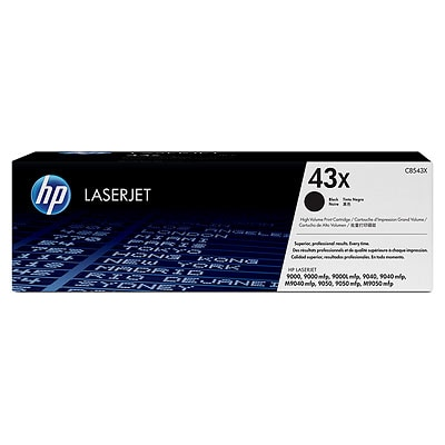 HP LaserJet 43X Black Toner Cartridge