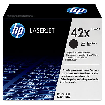 HP LaserJet 42X Black Toner Cartridge