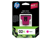 HP 02XL Magenta Ink Cartridge
