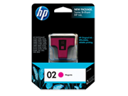 HP 02 Magenta Ink Cartridge