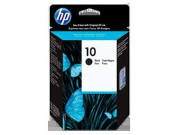 HP 10 Black Original Ink Cartridge