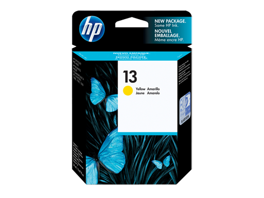 HP 13 Yellow Original Ink Cartridge