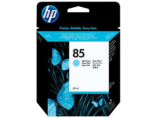 HP 85 69-ml Light Cyan Ink Cartridge