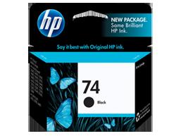 HP 74 Black Original Ink Cartridge