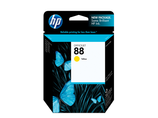 HP 88 Yellow Officejet Ink Cartridge
