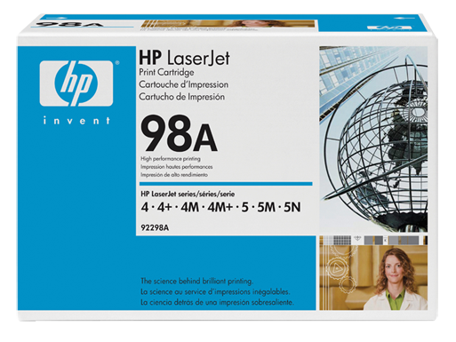 HP 98A Black Original LaserJet Toner Cartridge