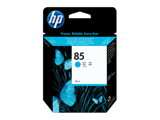 HP 85 28-ml Cyan Ink Cartridge