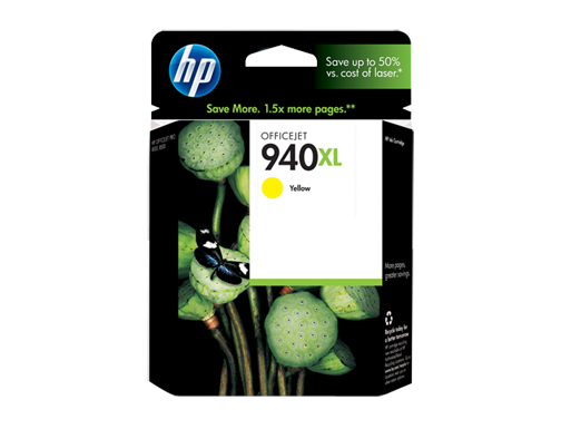 HP 940XL Yellow Officejet Ink Cartridge