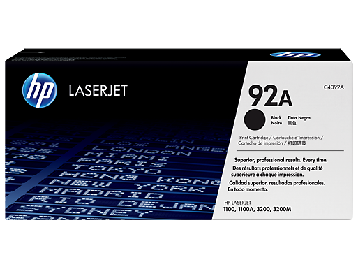HP 92A Black LaserJet Toner Cartridge