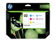 HP 02 Combo-pack Ink Cartridges