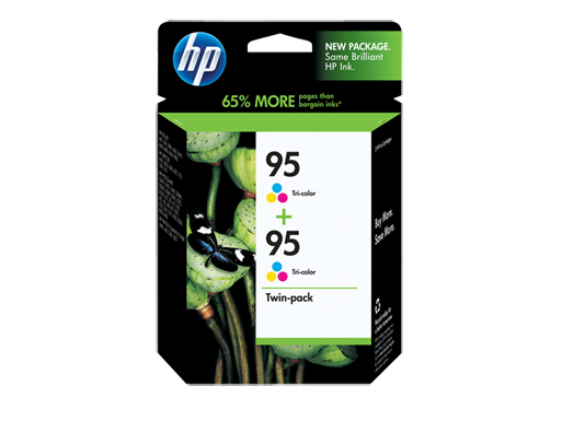HP 95 2-pack Tri-color Inkjet Print Cartridges