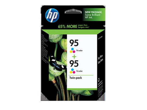 HP 95 2-pack Tri-color Original Ink Cartridges