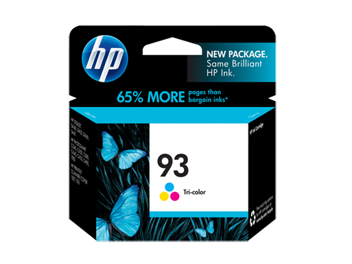 HP 93 Tri-color Original Ink Cartridge