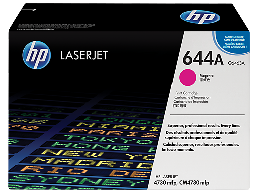 HP 644A Magenta LaserJet Toner Cartridge