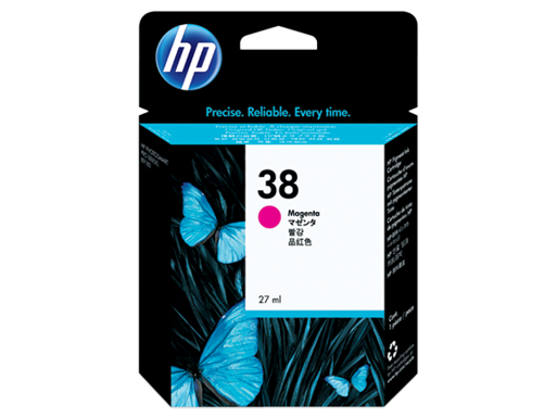 HP 38 Magenta Pigment Original Ink Cartridge