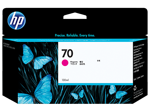 HP 70 130-ml Magenta Ink Cartridge