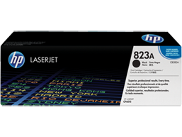 HP 823A Black Original LaserJet Toner Cartridge, CB380A