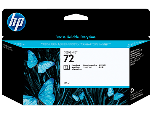HP 72 130-ml Photo Black Ink Cartridge
