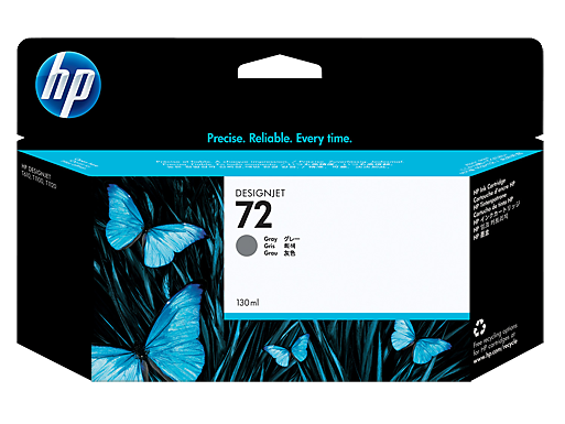 HP 72 130-ml Gray Ink Cartridge