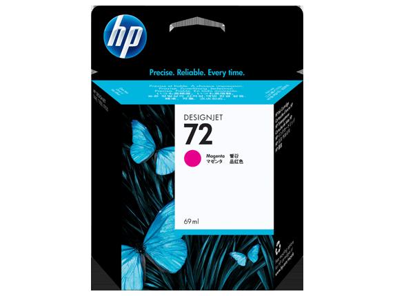 HP 72 69-ml Magenta DesignJet Ink Cartridge