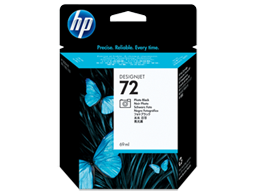 HP 72 69-ml Photo Black DesignJet Ink Cartridge