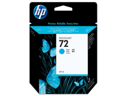 HP 72 69-ml Cyan DesignJet Ink Cartridge
