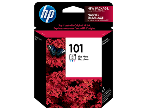 HP 101 Blue Photo Original Ink Cartridge