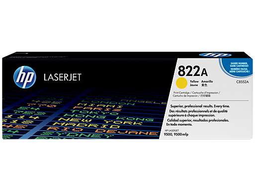 HP 822A Yellow Original LaserJet Toner Cartridge