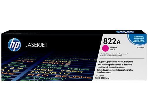 HP 822A Magenta Original LaserJet Toner Cartridge