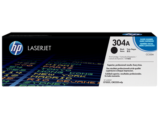 HP 304A Black LaserJet Toner Cartridge