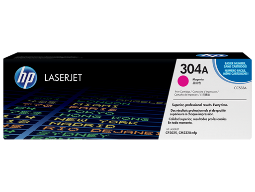 HP 304A Magenta Original LaserJet Toner Cartridge