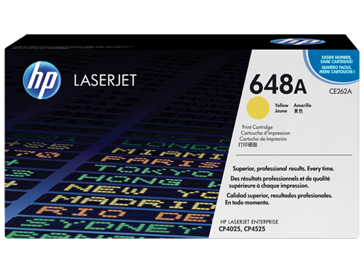 HP 648A Yellow Original LaserJet Toner Cartridge
