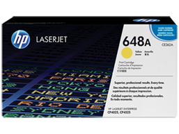 HP 648A Yellow Original LaserJet Toner Cartridge