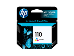 HP 110 Tri-color Original Ink Cartridge
