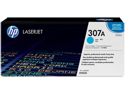 HP 307A Cyan Original LaserJet Toner Cartridge, CE741A