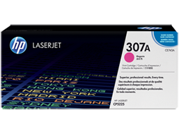 HP 307A Magenta Original LaserJet Toner Cartridge, CE743A