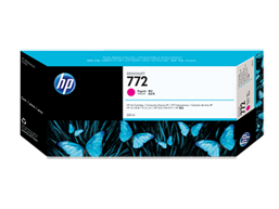 HP 772 300-ml Magenta Designjet Ink Cartridge