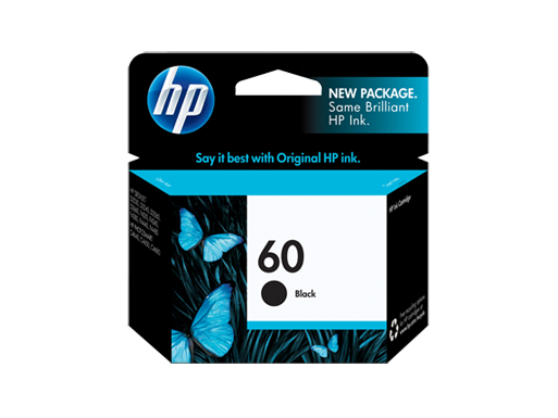 HP 60 Black Original Ink Cartridge