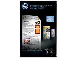 HP Laser Premium Glossy Presentation Paper 120 gsm-250 sht/Tabloid/11 x 17 in