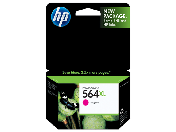 HP 564XL High Yield Magenta Original Ink Cartridge