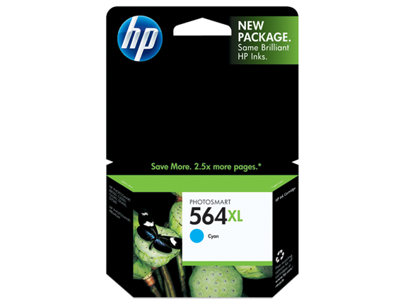 HP 564XL Cyan Ink Cartridge