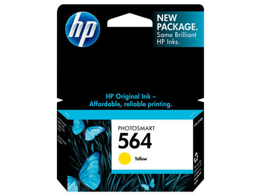 HP 564 Yellow Original Ink Cartridge