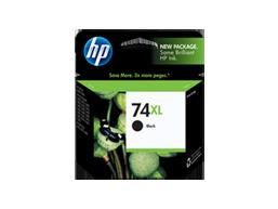 HP 74XL High Yield Black Original Ink Cartridge