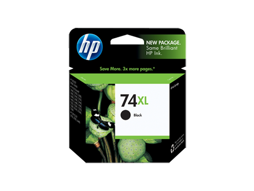 HP 74XL High Yield Black Original Ink Cartridge