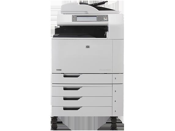 Hp Color Laserjet Cm6040f Multifunction Printer Hp