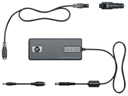 HP 90W Smart Combo AC Adapter